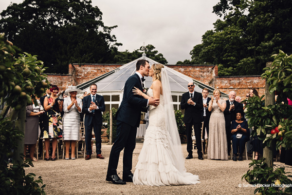 Just Married at Combermere Abbey | Wedding Venues Cheshire