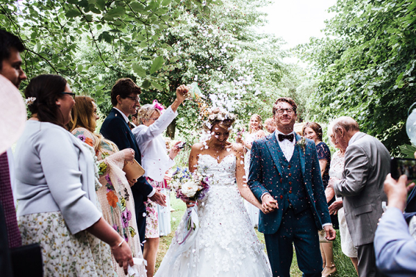 Just married at Crockwell Farm wedding venue in Northamptonshire | CHWV