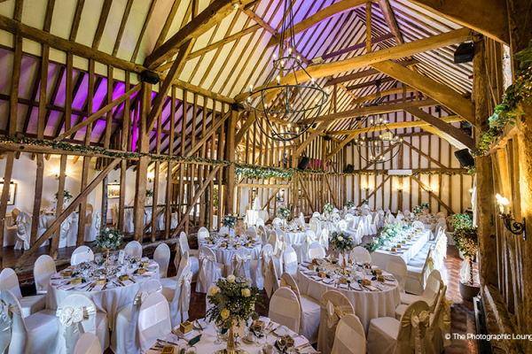 Crondon Park Barn wedding venue in Essex | CHWV