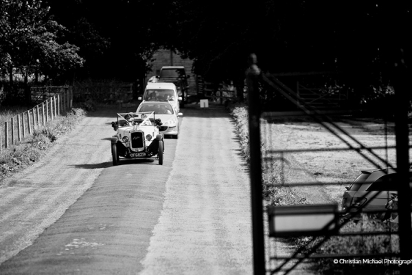 Arriving at Crowcombe Court wedding venue in Somerset | CHWV