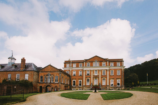 The courtyard at Crowcombe Court wedding venue in Somerset | CHWV