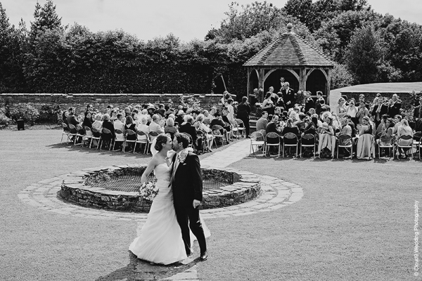 Just married at the beautiful Delbury Hall wedding venue in Shropshire | CHWV