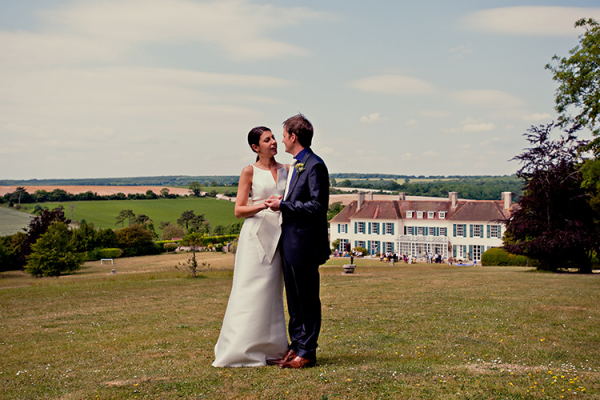 A couple taking a moment at Eartham House West Sussex wedding venue | CHWV