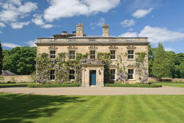 Eshott Hall. Northumberland Country House