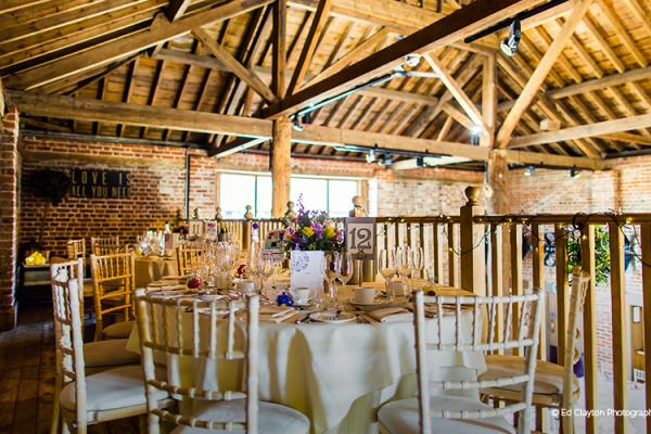 Small Wedding Venues: Barn Wedding Venues Essex
