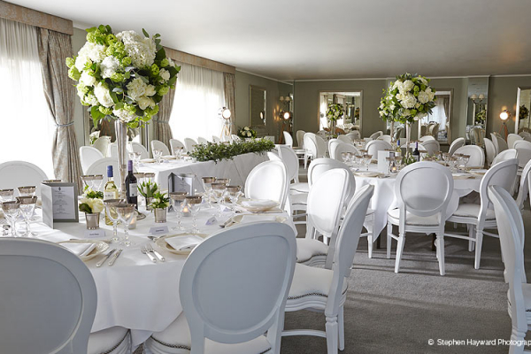 Wedding receptions at Goodwood in West Sussex