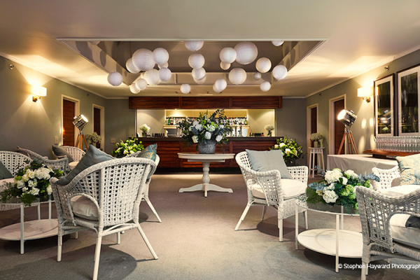 Relax in the bar at Goodwood wedding venue in West Sussex | CHWV