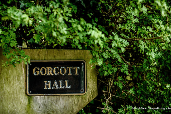 Sign in the grounds at Gorcott Hall in Worcestershire | CHWV