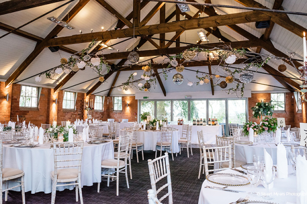 The barn at Gorcott Hall wedding venue in Worcestershire | CHWV