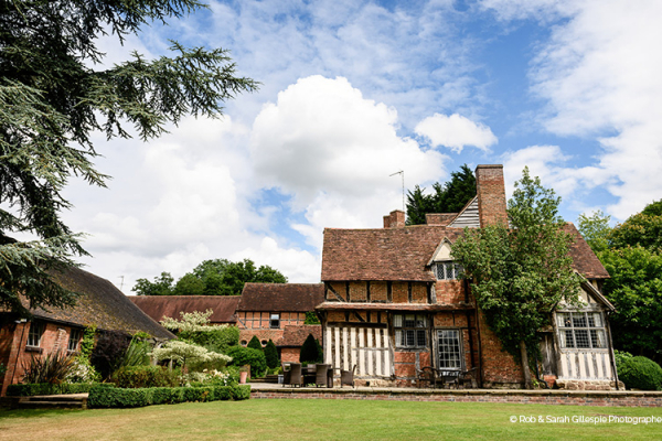 Gorcott Hall wedding venue in Worcestershire in the sunshine | CHWV