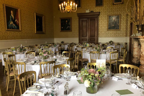 Wedding Breakfast at Grittleton House | Wedding Venues Wiltshire