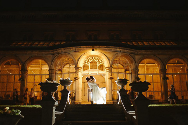 The Orangery at Night at Grittleton House | Wedding Venues Wiltshire