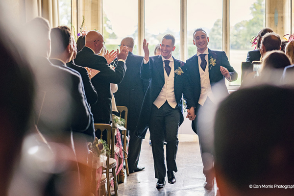 Just married at Grittleton House wedding venue in Wiltshire | CHWV