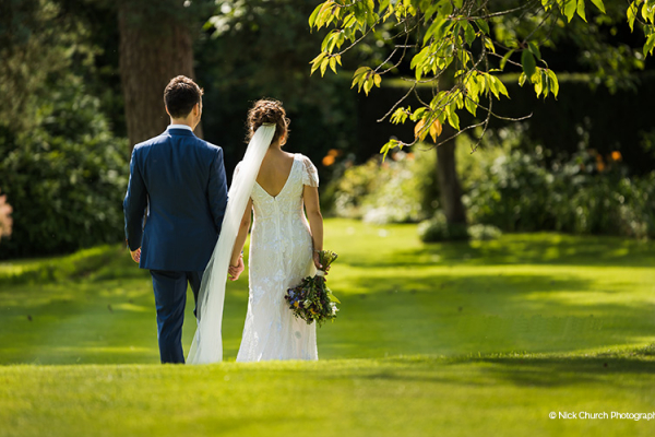 The Beautiful Gardens at Guyers House | Wedding Venues Wiltshire