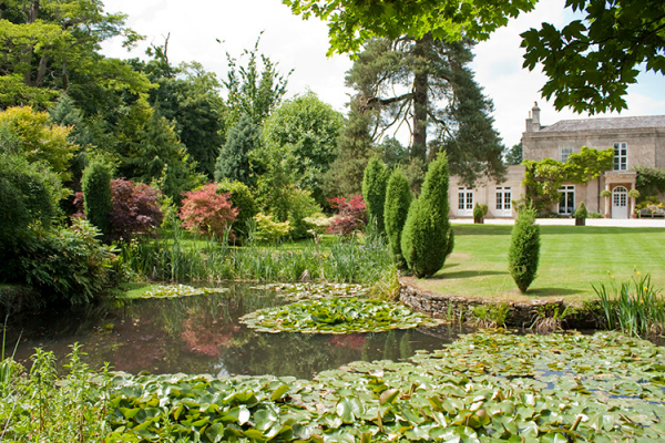 The Pond in the Gardens at Guyers House | Wedding Venues Wiltshire