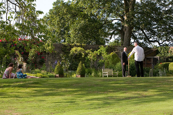 Garden Games at Guyers House | Wedding Venues Wiltshire