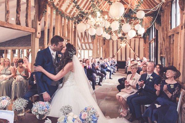 Just married at High House Weddings wedding venue in Essex | CHWV