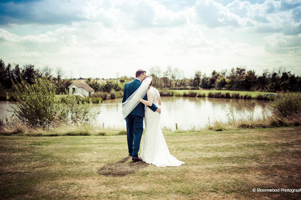 A stroll by the lake at High House Weddings wedding venue in Essex | CHWV