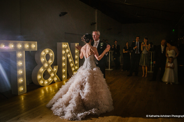 Romantic first dance at Holkham Hall wedding venue in Norfolk | CHWV