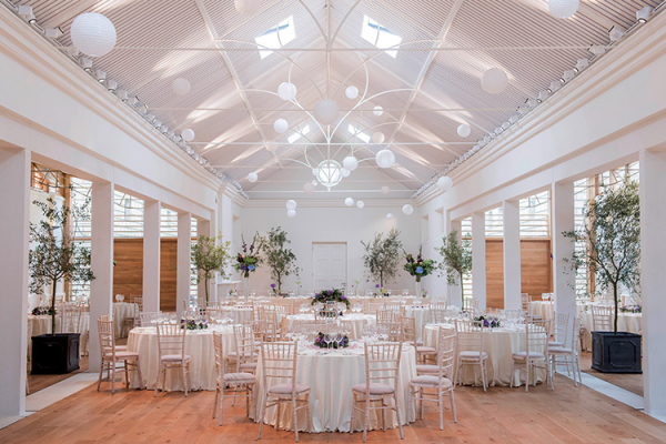 The Lady Elizabeth Wing at Holkham Hall wedding venue in Norfolk | CHWV