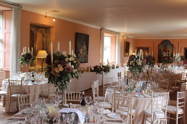 The Long Gallery at Holme Pierrepont Hall wedding venue in Nottinghamshire | CHWV