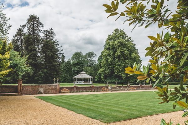 The Grounds and Pagoda at Holmewood Hall | Wedding Venues Cambridgeshire