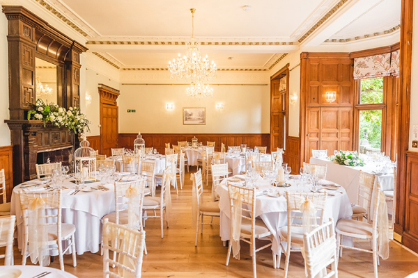 The Dining Room at Holmewood Hall | Wedding Venues Cambridgeshire