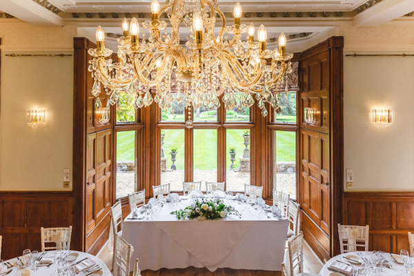 The Top Table at Holmewood Hall | Wedding Venues Cambridgeshire