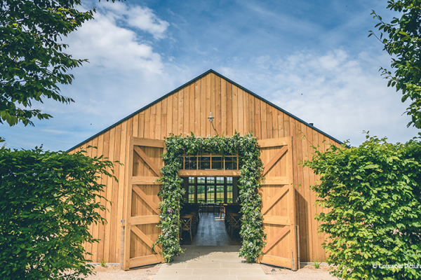 The Grange ceremony space at Hyde House and Barn wedding venue in Gloucestershire | CHWV