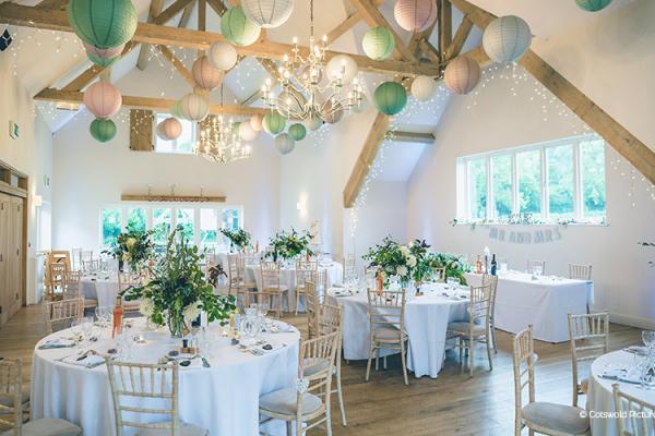 Barn Wedding Venue In Gloucestershire