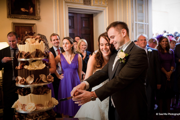 Cutting the cake at Lansdowne Club