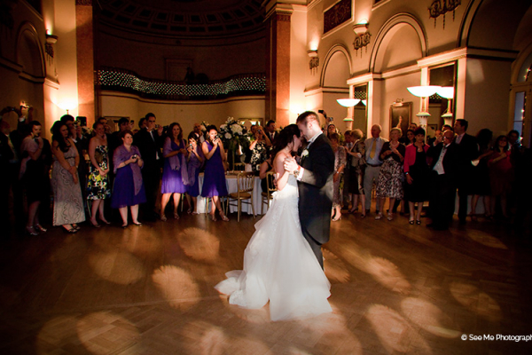 First dance at Lansdowne Club