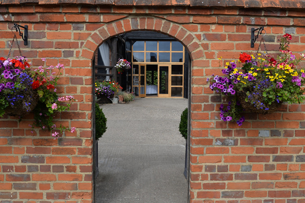 Courtyard Entrance at Lillibrooke Manor | Wedding Venues Berkshire