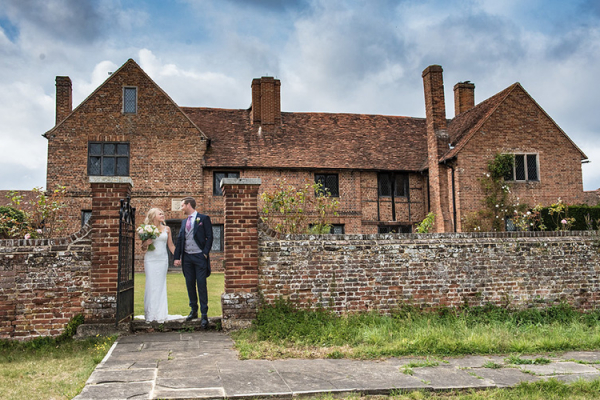 Happy Couple at Lillibrooke Manor | Wedding Venues Berkshire