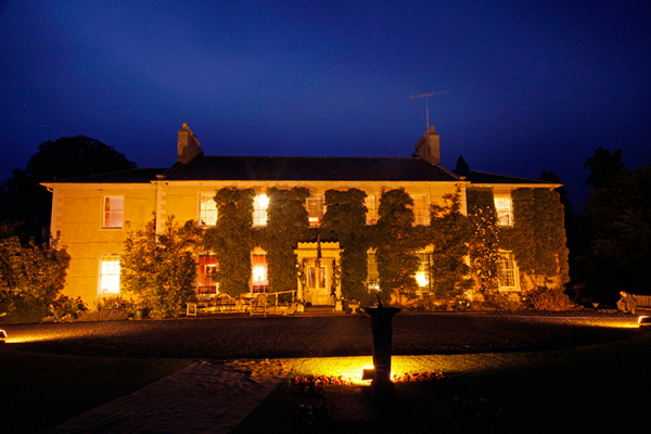 Nighttime at Low House | Wedding Venues Cumbria