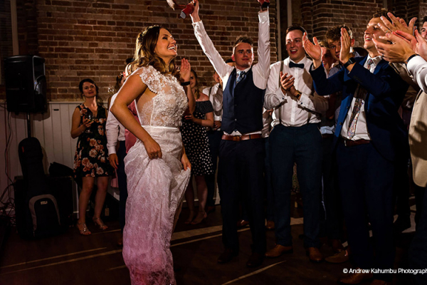Romantic first dance at Manor Mews barn wedding venue in Norfolk | CHWV