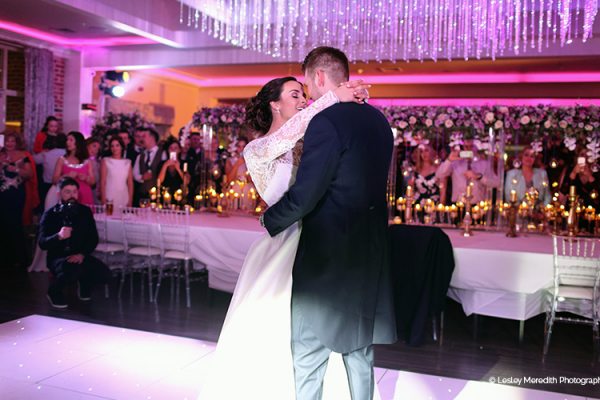 Romantic first dance at Merrydale Manor wedding venue in Cheshire | CHWV