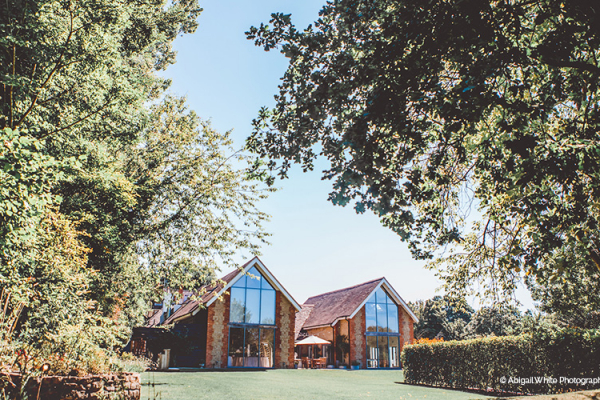 The barn at Miillbridge Court wedding venue in Surrey | CHWV