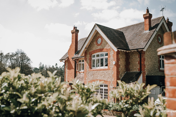 The house at Miillbridge Court wedding venue in Surrey | CHWV