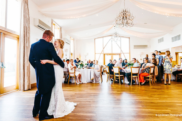 First dance at Mythe Barn in Leciestershire