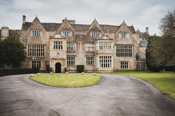 The front elevation at North Cadbury Court wedding venue in Somerset | CHWV