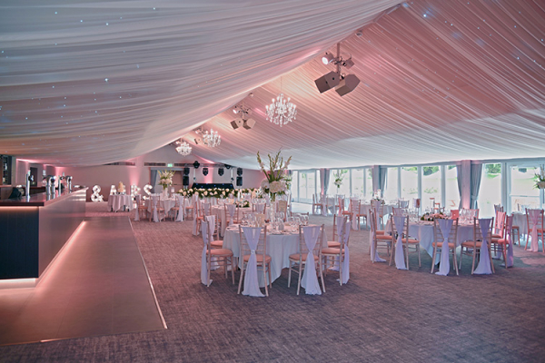 The new Garden Pavilion at Oakley Hall Hotel wedding venue in Hampshire | CHWV