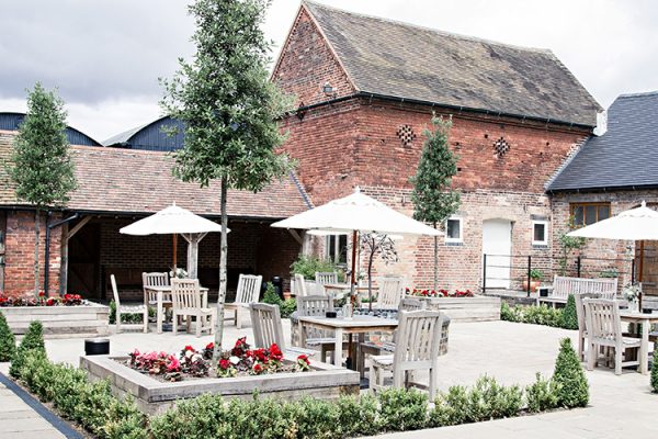 The courtyard at Packington Moor