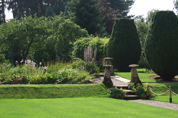 The grounds at Packington Moor wedding venue