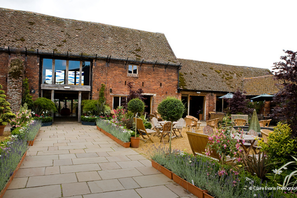 The front of Packington Moor wedding venue