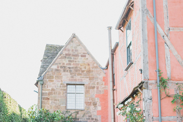 A couple taking a moment at Pauntley Court country house wedding venue in Gloucestershire | CHWV