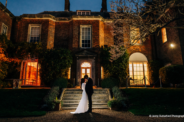 Nighttime at Pelham House | Wedding Venues East Sussex