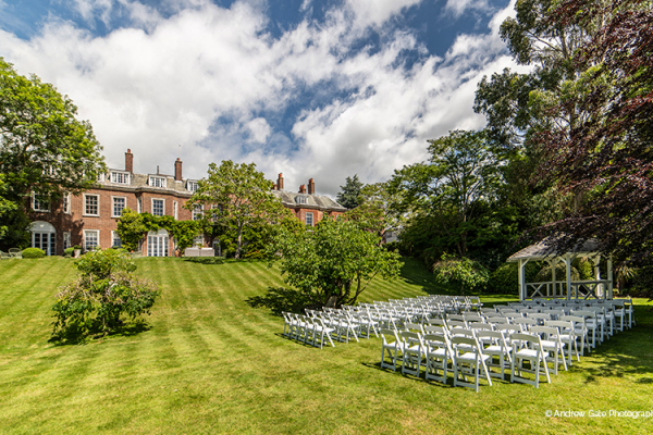 Outdoor Ceremonies at Pelham House | Wedding Venues East Sussex