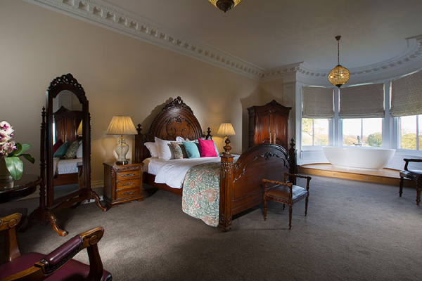 Luxury Suite accommodation at Pendrell Hall wedding venue in Staffordshire | CHWV