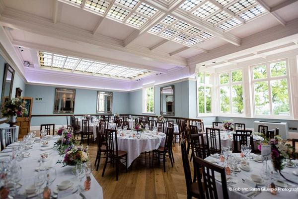 Pendrell Hall Set Up Fro A Wedding Reception